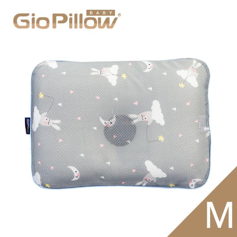 韓國GIO Pillow 超透氣護頭型嬰兒枕頭M號-晚安兔兔★愛兒麗婦幼用品★