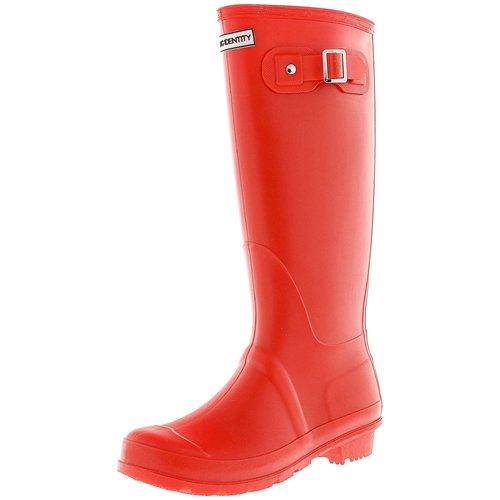 Exotic Identity Women's Original Tall Knee-High Rain Boot 4