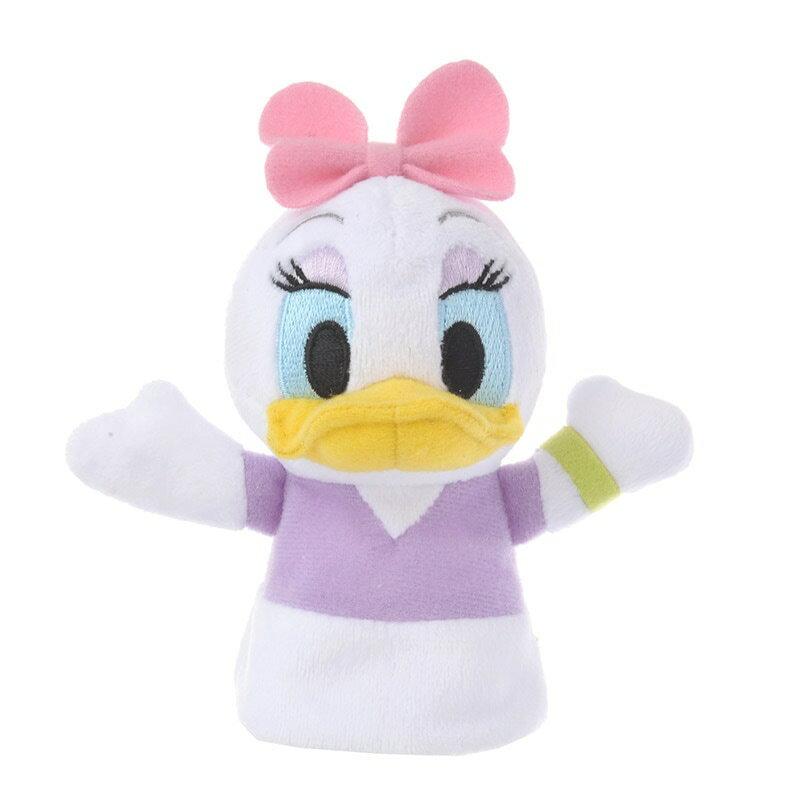 【真愛日本】16121500079 專賣店娃娃專用指偶-黛西 唐老鴨 裝飾 指偶 東京迪士尼帶回