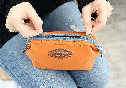 Lady Travel Makeup bag Cosmetic pouch Clutch Handbag 5