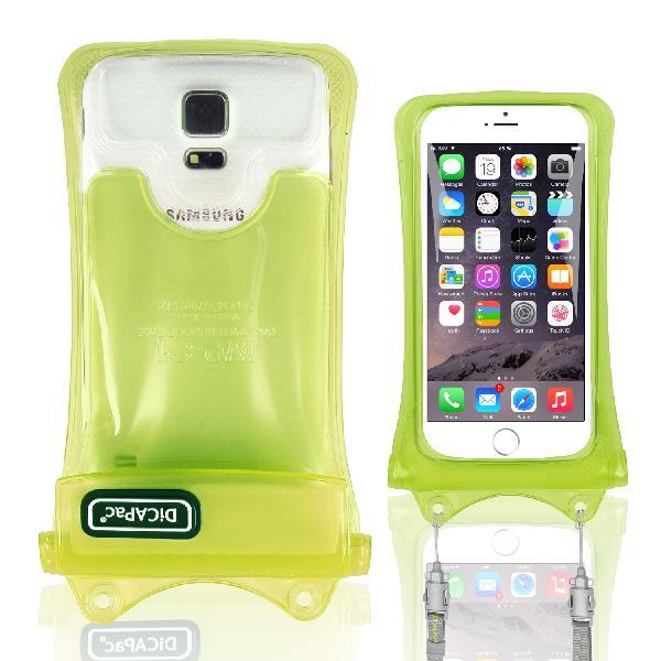 DiCAPac WP-C1(有現貨) 高耐磨手機防水袋(5.1吋以下)-綠色