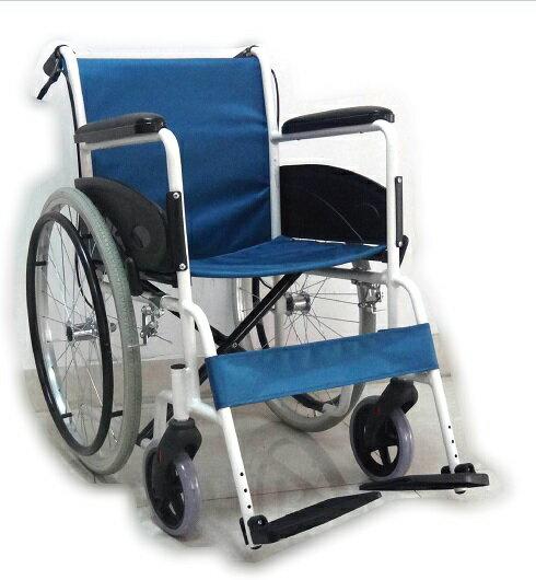 【醫康生活家】杏華 鋁合金輪椅(不折背) F18-1
