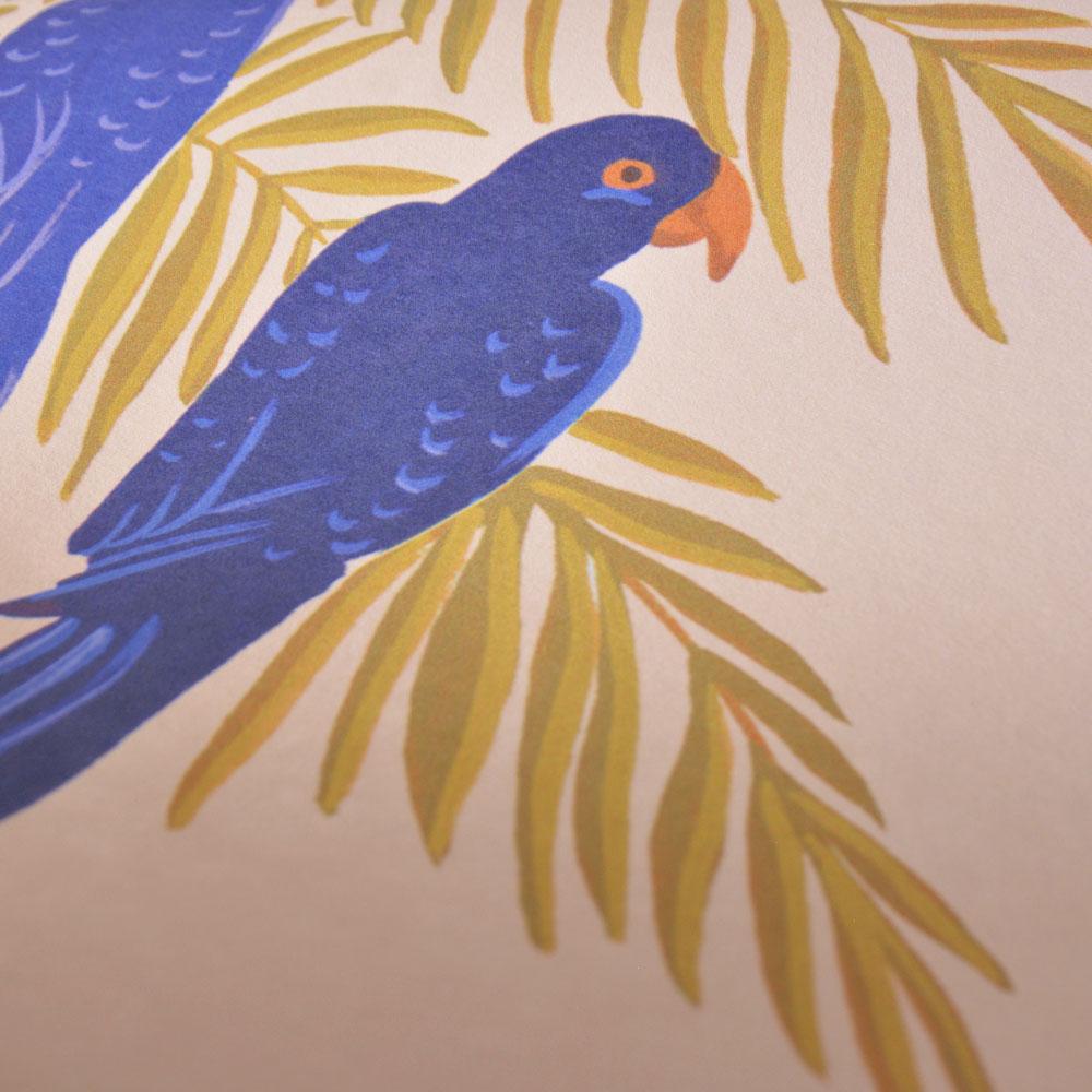 法國壁紙  鳥紋 鸚鵡紋 Season Paper Parrots PP-S1801 壁紙 1
