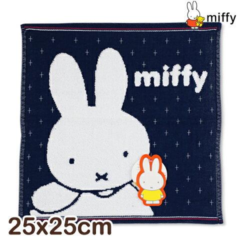純棉紗布方巾 十字米飛兔款 miffy