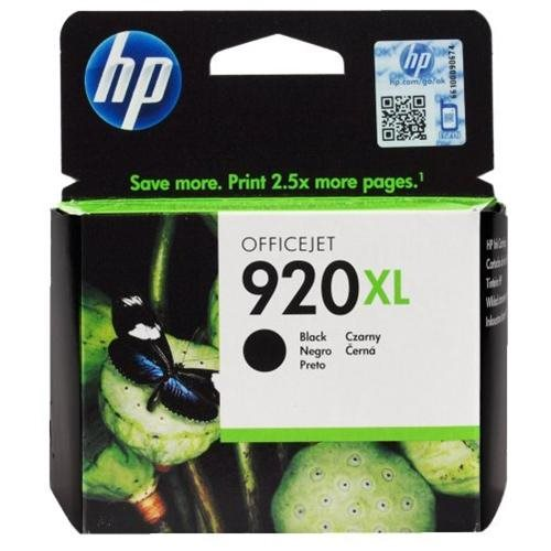 Laser Tek Services Compatible Ink Cartridge Replacement for HP 920XL CD975AN Black, 2-Pack