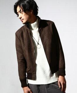 皮衣麂皮棕色