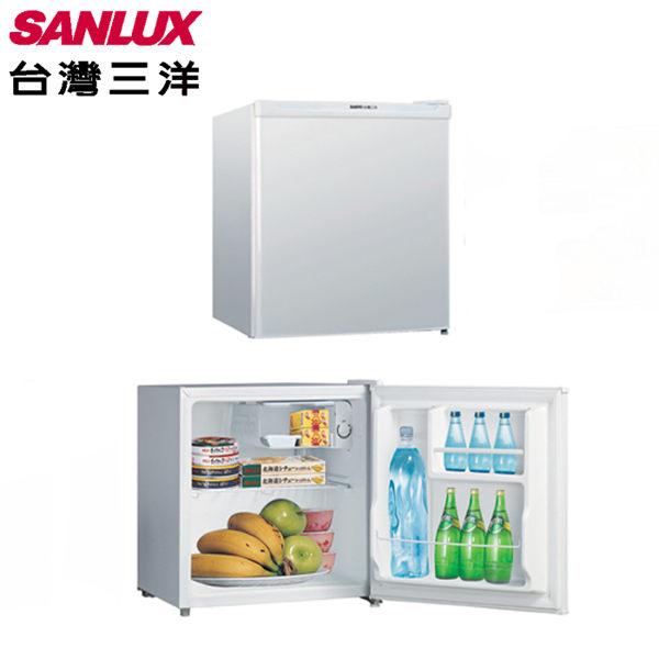 SANLUX台灣三洋45公升單門小冰箱SR-B45A5含運不含拆箱定位