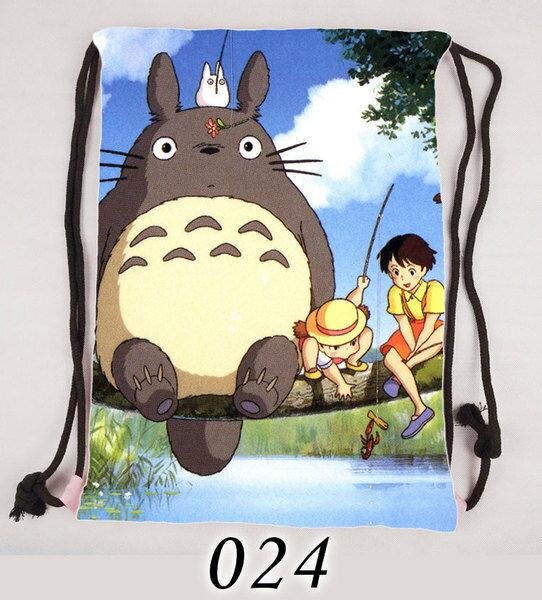 【憶童趣】動漫 龍貓 束口袋後背包