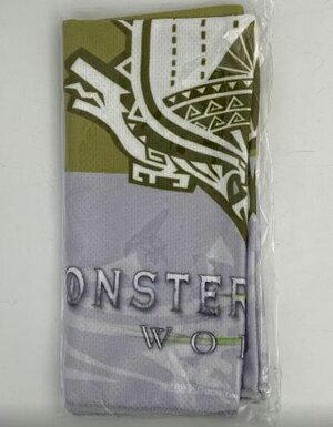 魔物獵人 世界 特典 領巾 全新品