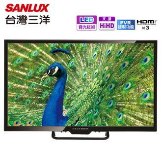 SANLUX 台灣三洋 32吋 LED背光 數位液晶顯示器 SMT-32MV7 / 預約錄影 / FullHD / LED背光