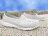 《限時特價79折》Shoestw【62U1SA61SY】PONY TROPIC 水鞋 軟Q 防水 懶人鞋洞洞鞋 灰線條 親子 0