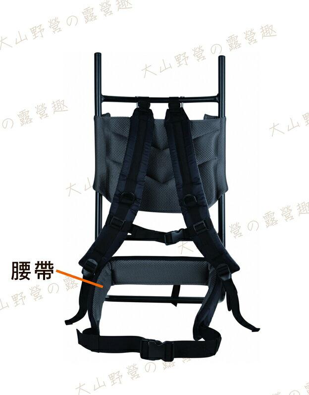 【露營趣】中和安坑 RHINO 犀牛 1649 659-1 中型鋁架專用 背負系統 (腰臀帶)