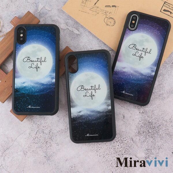Miravivi月球系列防手滑手機殼套_iPhoneX