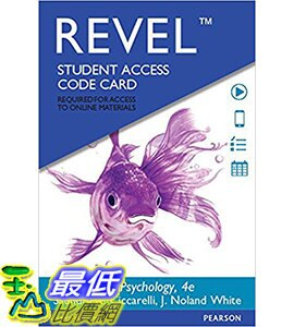 [106美國直購] 2017美國暢銷軟體 REVEL for Psychology -- Access Card (4th Edition)