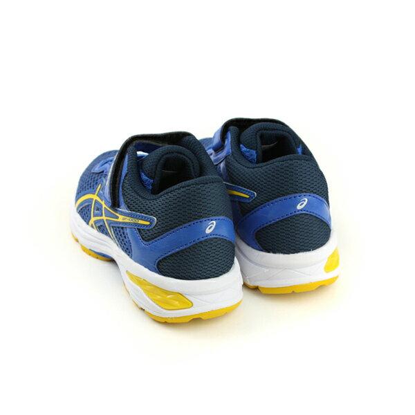 亞瑟士 ASICS GT-1000 6 PS  慢跑鞋 運動鞋 深藍色 中童 C741N-4504 no286 1