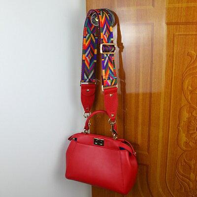 帆布肩背帶彩色帆布編織可調節包包背帶16款73ve13【獨家進口】【米蘭精品】 1