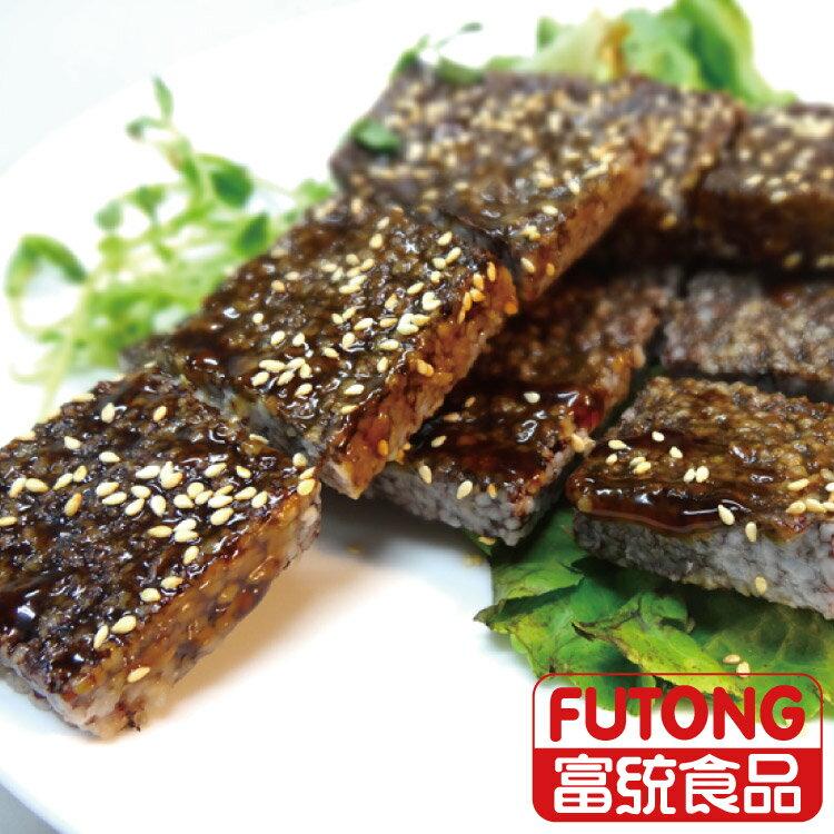 【富統食品】黃福記米血糕450g 1