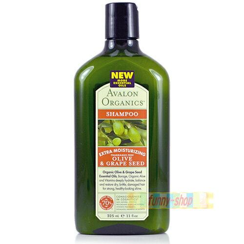 AVALON 橄欖葡萄籽 洗髮精 (325ml)【巴布百貨】
