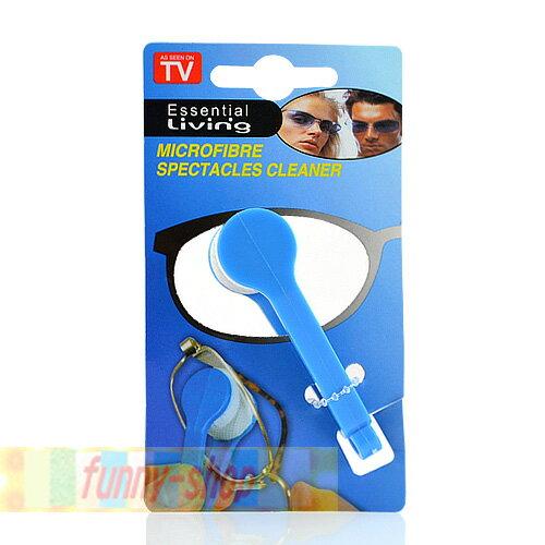 【巴布百貨】攜帶型眼鏡專用便利清潔器 / 鏡面隨身清潔擦 (1入)