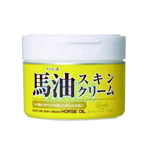 【巴布百貨】日本北海道 LOSHI 馬油護膚霜(220g)