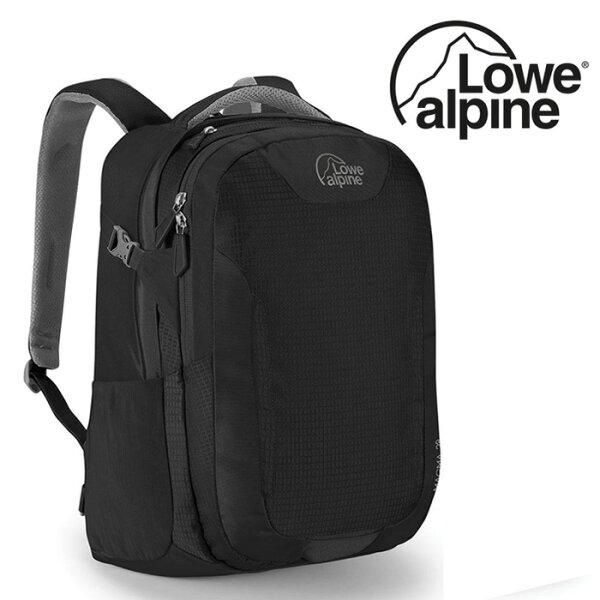 【LoweAlpine英國】Magma15吋電腦背包多功能背包旅行後背包黑色/FDP-47【容量28L】