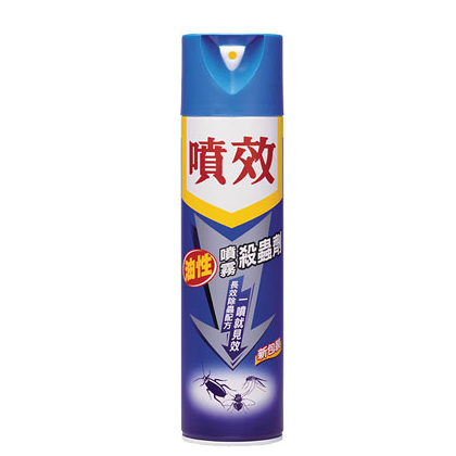 噴效 [ 油性 ] 噴霧殺蟲劑 ( 600ml ) 夏季必備 大掃除 除舊布新 清潔 廚房清潔 環境清潔