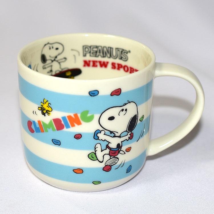 SNOOPY 史努比 加油應援馬克杯 正版 日本製 350ml