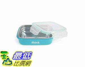 [106美國直購] thinkbaby 藍色 便當盒 BPA Free The Bento Box 18/8不鏽鋼