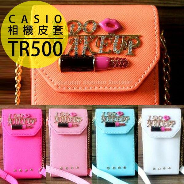 日光城~CASIO TR500相機皮套^(附背帶  手挽帶^),TR550 TR350相機