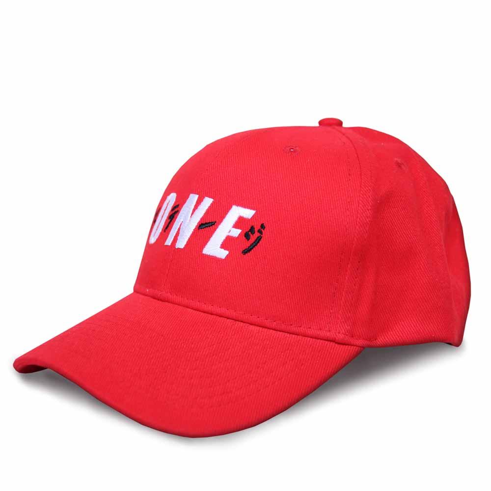 STAGEONE ICHIBAN BASEBALL CAP 黑色 / 紅色 / 白色 三色 5