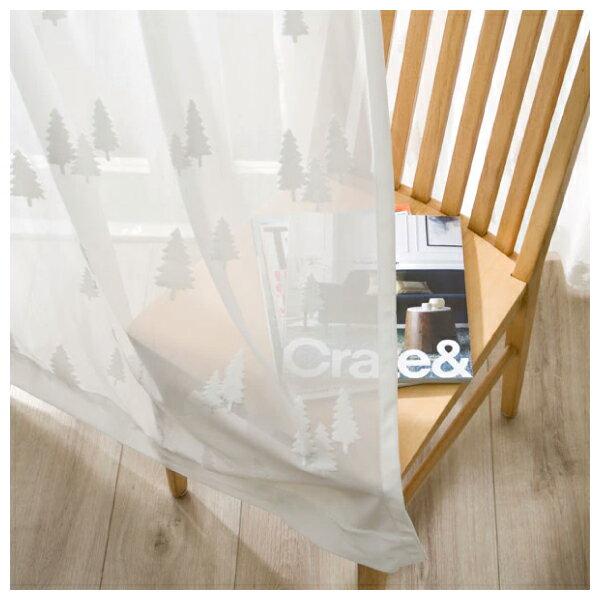 蕾絲窗簾 CHENE 100×138×1 NITORI宜得利家居 2