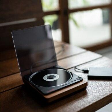 日本仿復古黑膠播放器 Amadana Music CD Player C.C.C.D.P. -日本必買 日本樂天代購(13200) /  件件含運 0