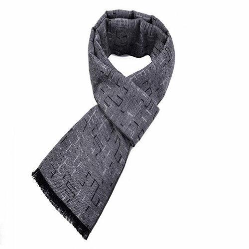BOBI:圍巾素色小流蘇混色絨簡約大方保暖圍巾【CE013】BOBI1228
