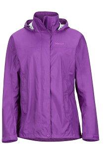 【【蘋果戶外】】Marmot46200-6238淺紫色美國女PreCip土撥鼠防水外套類GORE-TEX防風外套風衣雨衣風雨衣