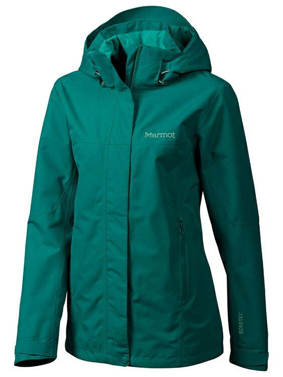 【鄉野情戶外專業】Marmot |美國| Palisades 多功能保暖兩件式外套 女款/GORE-TEX 防水外套+羽絨外套/35870