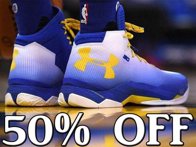 Under Armour UA Curry 2.5 專屬配色 白藍黃 男鞋 籃球鞋【T33】潮 NIKE