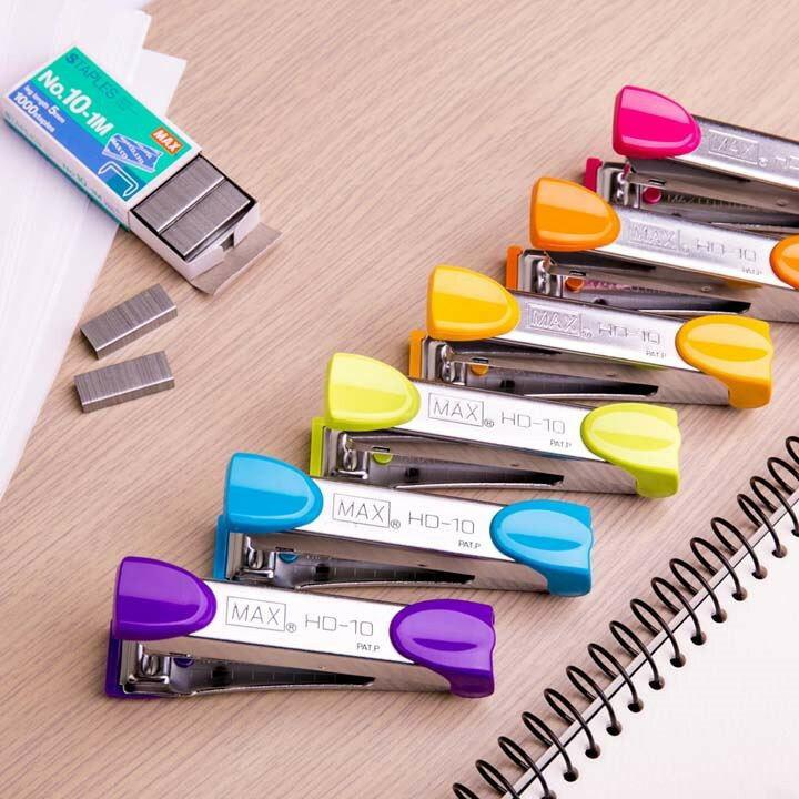 MAX美克司 HD-10 新型訂書機 釘書機