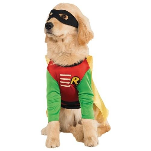 Rubies Costume Teen Titans Pet Costume, Large, Robin 0