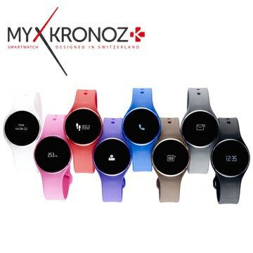 MYKRONOZ ZeCircle 超薄防水觸控智能手錶 (八色)