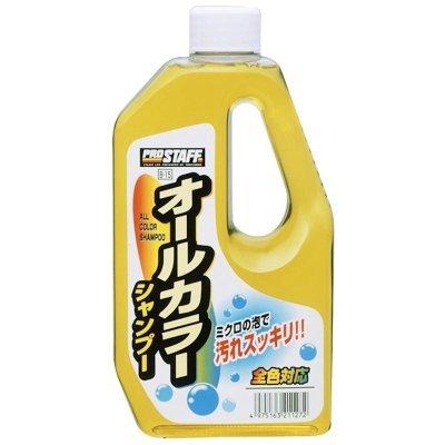 權世界@汽車用品 日本進口 Prostaff 全車色泡沫車身清潔快速起泡洗車精 640ml B-15