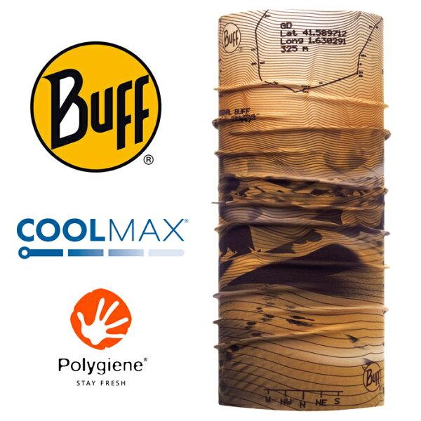 【Buff西班牙】魔術頭巾系列COOLMAX抗UV頭巾-荒漠探索/BF117017