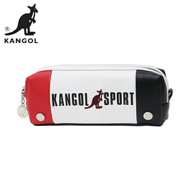 紅色款【日本正版】KANGOL SPORT 皮革 筆袋 鉛筆盒 KANGOL 英國袋鼠 - 080618 - 限時優惠好康折扣