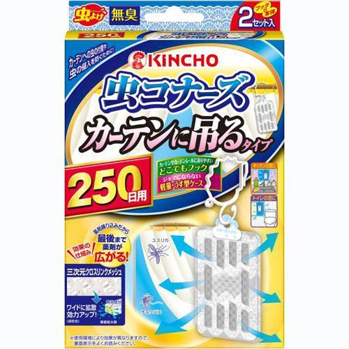 日本製 金雞/金鳥 室內用 立體防蚊掛片 2017新款 (2入)