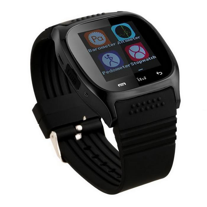 Bluetooth Smart Wrist Watch Phone Mate Touch Screen Support For Android IOS 3