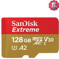 SanDisk 128GB 128G microSDXC【Extreme 160MB/s】microSD micro SD SDXC UHS 4K U3 V30 A2 C10 Class 10 SDSQXA1-128G 手機記憶卡 0