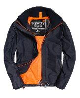 Superdry極度乾燥-男外套推薦到Superdry (M50000ZN 43A)SD-Windtrekker 男連帽防風夾克 (黑/橘S~L) / 全新美國公司貨 【119 小鋪】就在119小鋪推薦Superdry極度乾燥-男外套