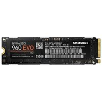 Samsung 960 EVO MZ-V6E250BW 250 GB Internal Solid State Drive - PCI Express - 3.13 GB/s Maximum Read Transfer Rate - 1.46 GB/s Maximum Write Transfer Rate - M.2