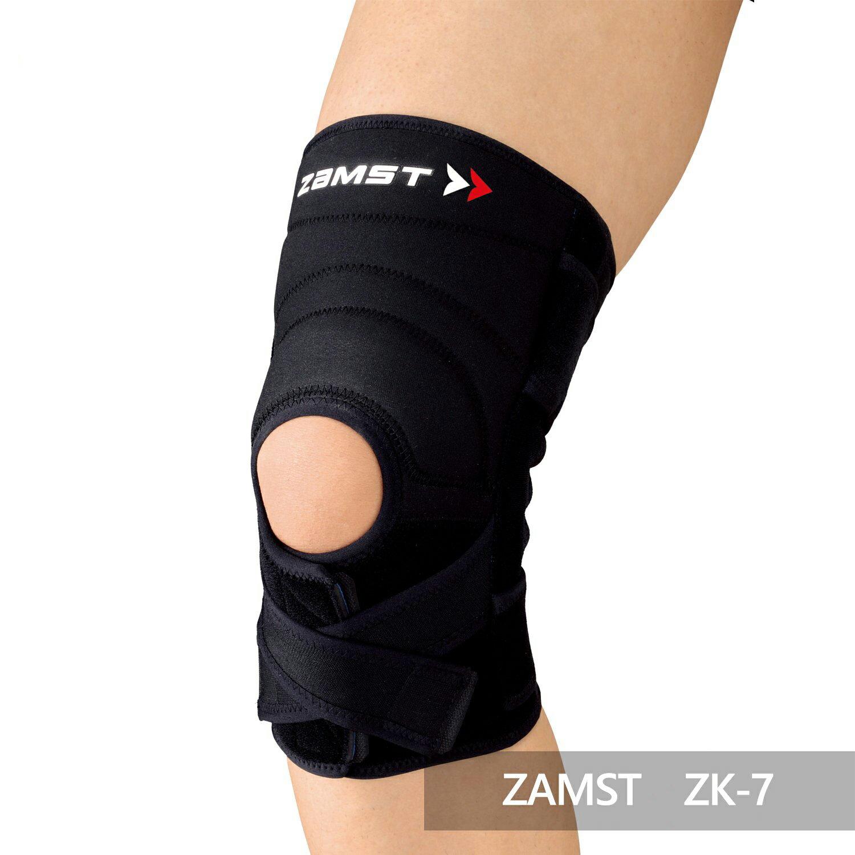 【ZAMST】ZK-7 高度防護混合式加壓護膝