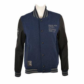 D2TE777114(靛藍)MIZUNO1906女休閒棒球夾克【美津濃MIZUNO】