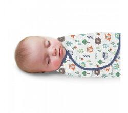 Summer Infant SwaddleMe懶人包巾0~3m S號 森林朋友